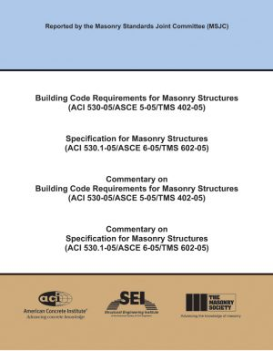 TMS 402/602 Building Code Requirements and Specification for ...