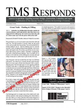 Sample TMS Responds Cover