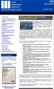 TMS E-News Brief Cover