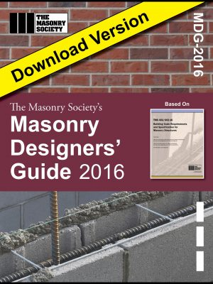 Masonry Designers' Guide 2016