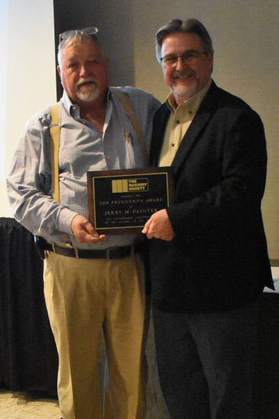 Painter receives 2018 President's Award from McMillian